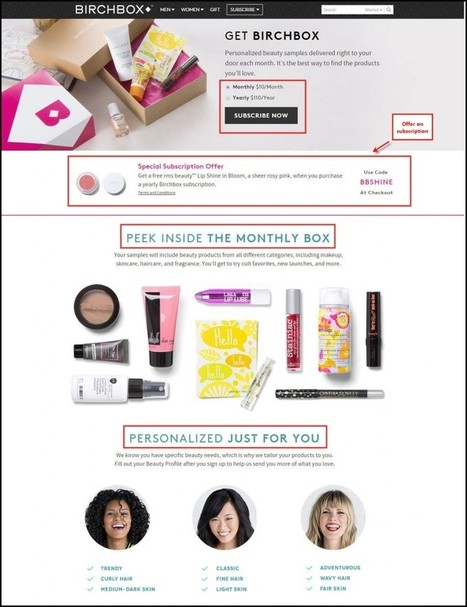 Birchbox Clone Script with these Features and Improvements will Conquer Every Competitor | Social Media Marketing Company India | Scoop.it