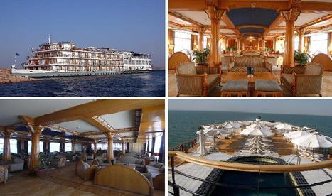 Oriental Tours Egypt - M/S Kasr Ibrim super deluxe   Egypt Boats : Dahabeya Al-Pasha   Scoop.it