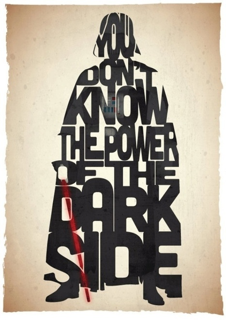 Star Wars Typography Prints... | Art for art's sake... | Scoop.it