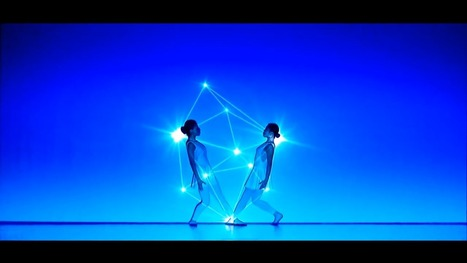 Cuando la combinación de danza y luz crea magia pura | Mapping | Scoop.it