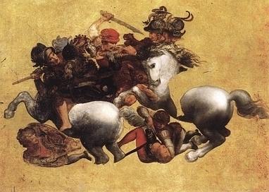 L'histoire mouvementée du tableau de Léonard de Vinci La Tavola Doria en lien avec la fresque disparue du maître, La Bataille d'Anghiari   Académie   Scoop.it