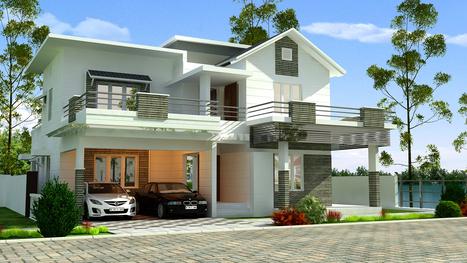 Blu Rain Waterfront Villas in Cochin - Type A Villas | Tulsi Developers - Blu Rain Waterfront Villas in Cochin | Scoop.it