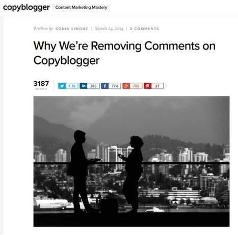 Blog Comments Revisited: Why Major Bloggers Are Turning Comments Back On : Social Media Examiner | Social Media Journal | Scoop.it