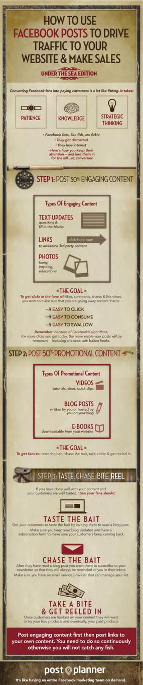 Cómo usar FaceBook para aumentar tu tráfico y ventas #infografia #infographic #marketing | Links sobre Marketing, SEO y Social Media | Scoop.it