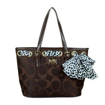 Coach Legacy Scarf Medium Coffee Totes EAM - £46.98 | I found the Bags Home | Scoop.it