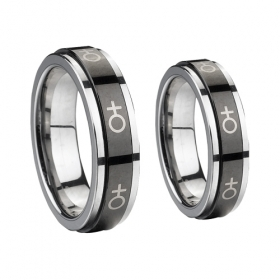 Tungsten+Ceramic Wedding Ring - Tungstenjewellry.com | I Love Tungsten Wedding Bands | Scoop.it
