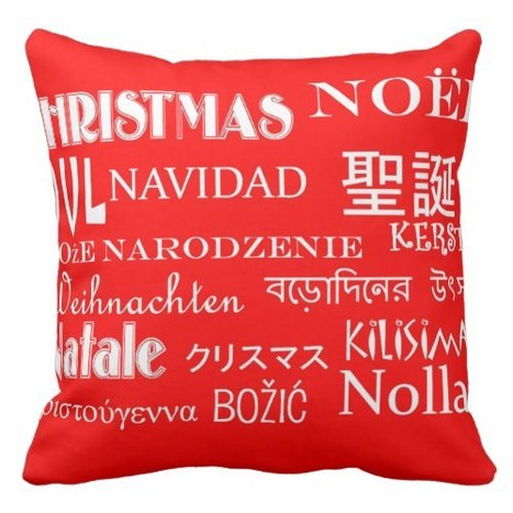 Red Christmas Throw Pillows   Holiday Decorations   Scoop.it