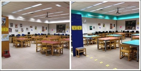 Sprucing Up My School Library for Less than $600 | Librarian Scoop du Jour: School Libraries, Literacy and Educational Technology | Scoop.it