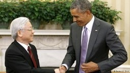 Obama and Vietnam Communist party leader discuss South China Sea and human rights | The Heralding | Current Politics | Scoop.it