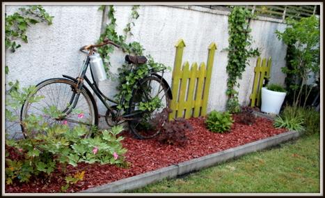 Palette version déco au jardin / Pallet as garden decoration   Upcyclin'   Scoop.it