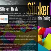 Sticker Deals (StickerDeals) on about.me | StickerDeals | Scoop.it