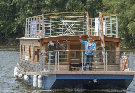Au chômage, elle crée son emploi avec son hôtel flottant | Ouest France Entreprises | Hospitality Sur et Sous l'eau | Scoop.it