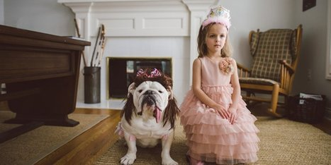 A Fantastic Glimpse At The Bond Between A Girl And Her Bulldog | Pet Sitter Picks | Scoop.it