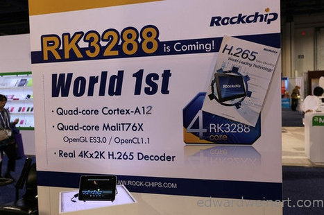Rockchip RK3288 vs RK3188 Performance Comparison | Embedded Systems News | Scoop.it