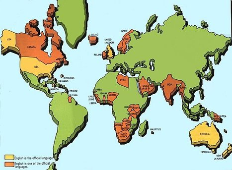 How many countries speak English?   Amazing Geography   Scoop.it