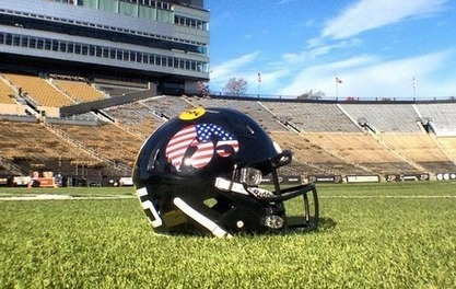 Iowa American Flag-Themed Helmet - Front Page Buzz | Horn APHuG | Scoop.it