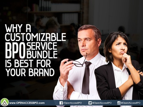 Why a customizable BPO service bundle is best for your brand - BPO World   Outsourcing and Customer Service   Scoop.it
