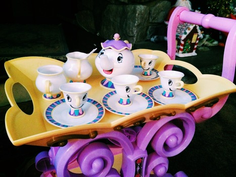 beauty and the beast tea set | life style | Scoop.it