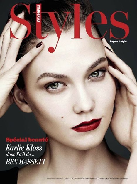 Karlie Kloss Covers L'Express Style Magazine - Magazines Cover Girl | Magazines Cover Girl | Scoop.it