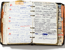 A Peek Inside the Notebooks of Famous Authors, Artists and Visionaries - Flavorwire | Read Ye, Read Ye | Scoop.it