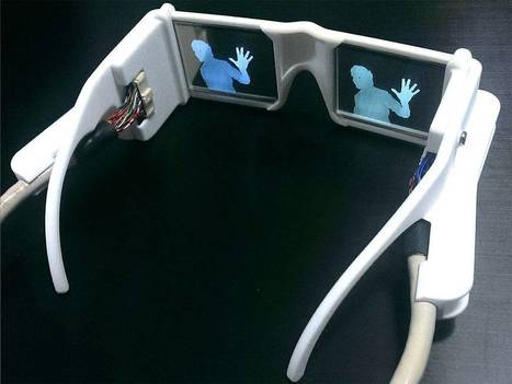Scientist who invented glasses that help blind to 'see' wins £50,000 award | healthcare technology | Scoop.it