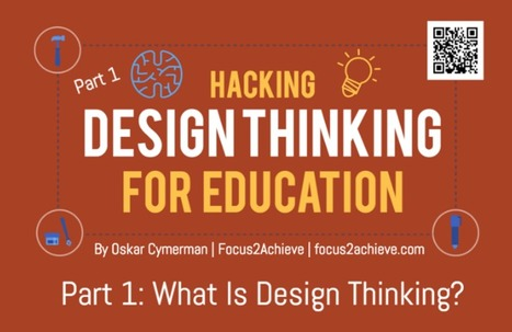 Hacking Design Thinking For Education Part 1: What Is Design Thinking? | iEduc | Scoop.it