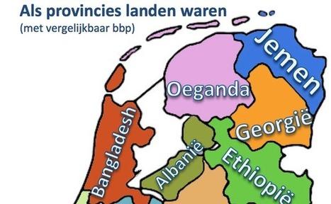 Zo rijk zijn onze provincies: Brabant even rijk als Marokko, Gelderland als Cuba | Aardrijkskunde | Scoop.it