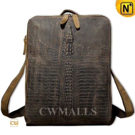 CWMALLS® Mens Convertible Leather Backpack CW916010   Mens Business Bags   Scoop.it