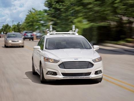 Ford : des voitures autonomes sans freins ni pédales d'ici 5 ans - Paris Singularity | Post-Sapiens, les êtres technologiques | Scoop.it