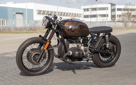 R80 The cannonball | Cafe racers chronicles | Scoop.it