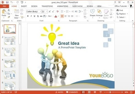 Awesome PowerPoint Templates For Idea Presentation | PowerPoint Presentation | social work | Scoop.it