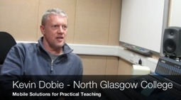 Mobile solutions for practical teaching at North Glasgow College : JISC RSC-Scotland Showcase | iPads for Teaching, Learning and Productivity | Scoop.it