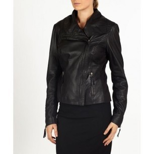 Nyla leather bomber/biker style jacket by hElium hE^2   Leather   Scoop.it