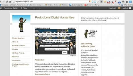 Postcolonial Digital Humanities: The Website | Adeline Koh | Digital  Humanities Tool Box | Scoop.it