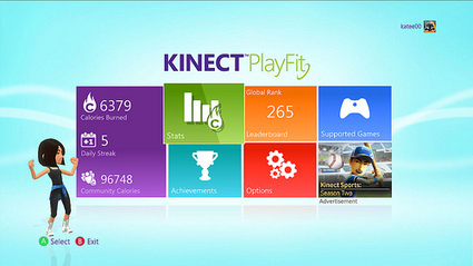 Kinect PlayFit launches today : | Quantified-Self & Gamification | Scoop.it