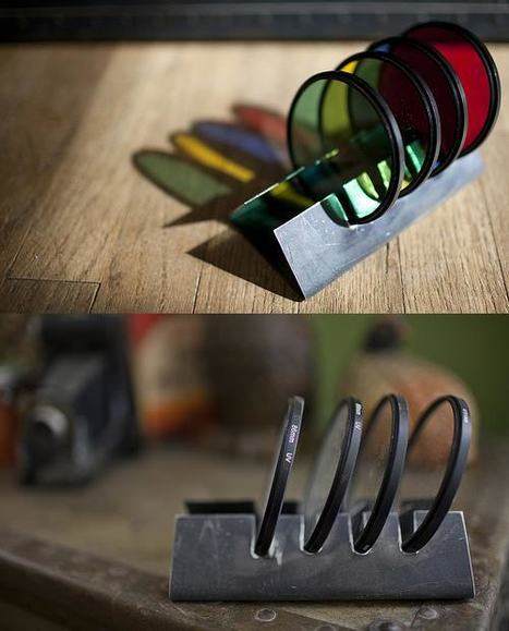 """Lens Filter Beverage Coasters 