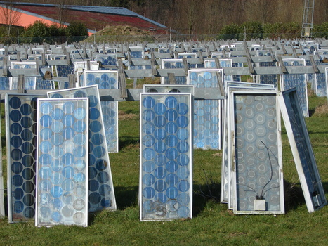 Recycling Solar Panels is Double Green | RecycleScene | The Future of Waste | Scoop.it