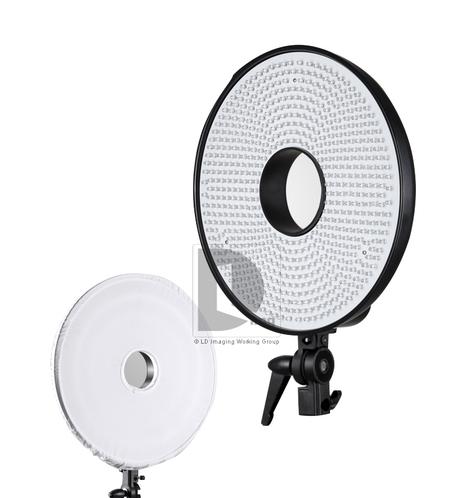 Falconeyes DVR-630DVC 630-LED Ring Video Light | Lighting & Studio | Linkdelight.com | Photo & Video  Accessories | Scoop.it