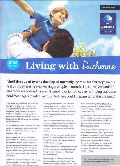 PakMag Cairns - February Edition | What's New in the Duchenne Nation | Scoop.it