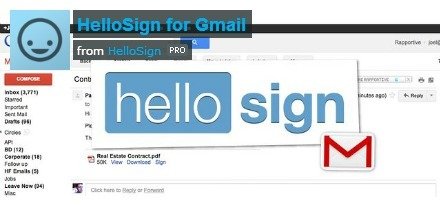 How to sign e-mail attachments in Gmail with the help of HelloSign | Tech News N Updates | Scoop.it