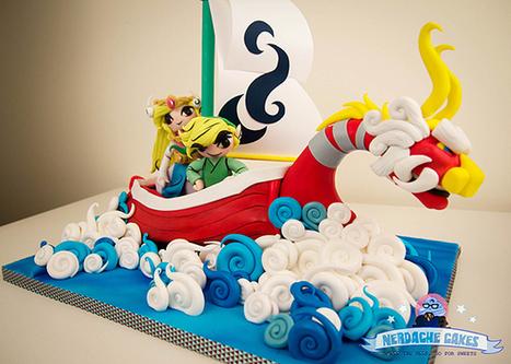 Amazing Legend of Zelda: Wind Waker Birthday Cake | All Geeks | Scoop.it
