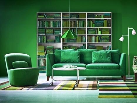Un intérieur original grâce à la couleur | Décoration, tendances et bons plans | Scoop.it