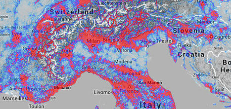 What do 220,000,000,000 GPS data points look like? | data duty | Scoop.it