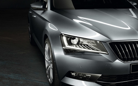 The new ŠKODA Superb Hatch - ŠKODA | SJB Autotech News | Scoop.it