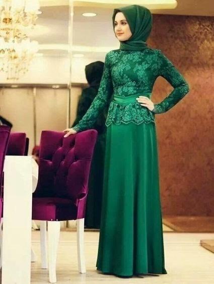 Baju Pesta Muslim Brokat Modern Terbaru Victorian Style | Kumpulan Tips Kecantikan dan Kesehatan | Scoop.it