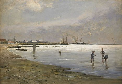 Trelleborgs water scene by Hugo Salmson | Wonderful Artwork And Images | Scoop.it