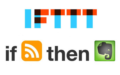 IFTTT + Evernote = Automated Research - edSocialMedia | MyEdu&PLN | Scoop.it