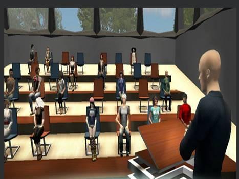 Usos del mundo virtual 'Second Life' (SL) en la universidad española. Una aproximación a los discursos sobre prácticas y percepciones / Paz Villar Hernández | Publicaciones interesantes e_learning | Scoop.it