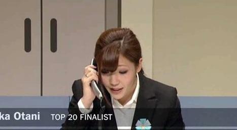 Le concours japonais de la meilleure standardiste téléphonique | Slate | Japon | Scoop.it