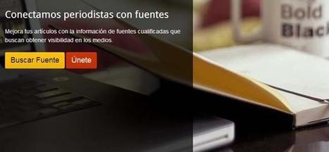 Herramienta gratis para encontrar fuentes para periodistas y bloggers | FormaciónOnline | Scoop.it